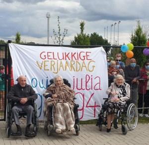 Verrassende verjaardag voor bewoners Melderthof