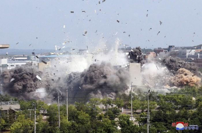 """Opblazen Koreaans verbindingskantoor was """"nog maar begin"""""""