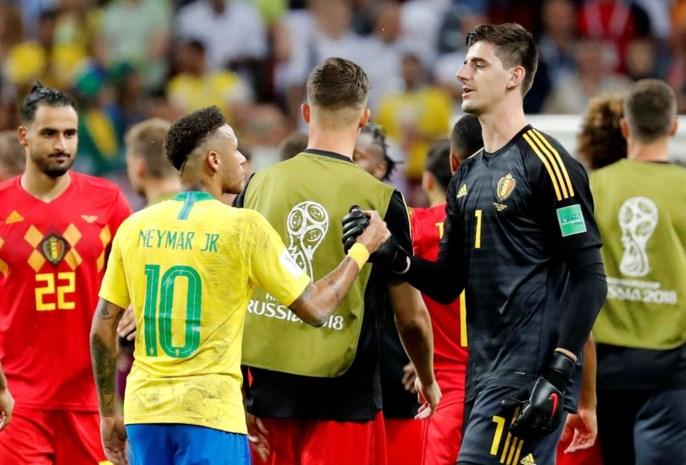 HERBELEEF WK 2018. Deel 4: de nachtmerrie van Neymar heeft een naam: Thibaut Courtois