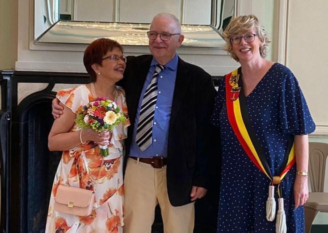 Peltenaar Michel ontwaakt na vier weken uit coma én trouwt met zijn Brigitte