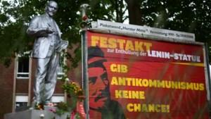 In volle beeldenstorm keert standbeeld van Sovjetleider Lenin terug naar Duitsland
