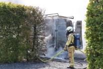Bestelwagen uitgebrand in Herk-de-Stad