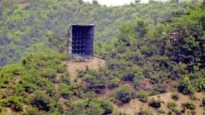 Noord-Korea plaatst opnieuw gigantische luidsprekers aan grens met Zuid-Korea