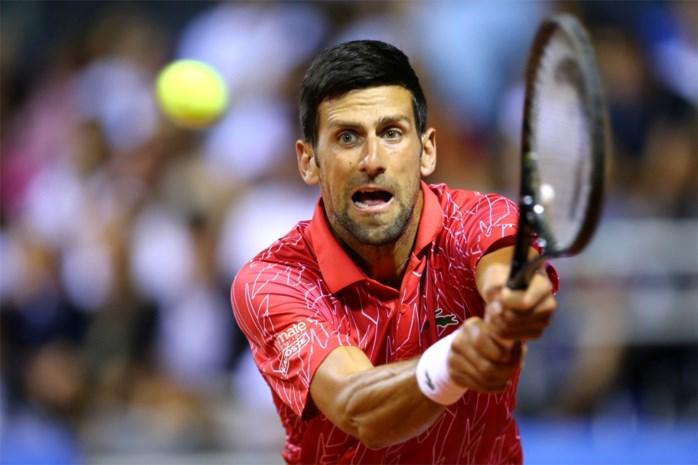 Novak Djokovic nu ook zelf besmet met corona na gecontesteerde Adria Tour