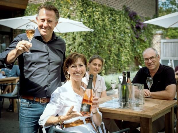Terras van de week: rosé met bubbels op het wijnterras van Aldeneyck