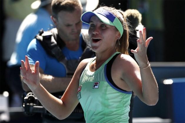 Australian Open-winnares Sofia Kenin toont in Charleston meteen haar goede vorm