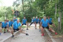 Heppense Joggers  met volle goesting terug op pad