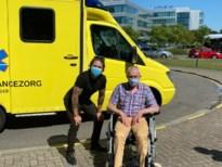 Zwaar zieke Eric (69) ontmoet André Hazes dankzij Wensambulance Zorg