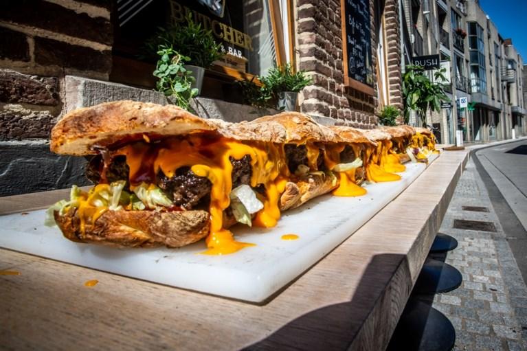 Hasselts restaurant serveert langste hamburger van het land