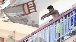 Rellen in Italië nadat appartementsblokken in quarantaine moeten
