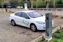 Twee nieuwe oplaadpalen voor elektrische wagens