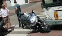 Motorrijder lichtgewond na botsing met lijnbus in Bilzen