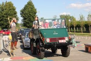 Drive-in-proclamatie in BSGO De Eik in Wellen