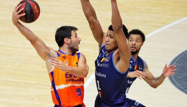 Sam Van Rossom grijpt met Valencia naast finale in Spaans basketkampioenschap