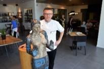 Topkunst helpt bij social distancing in Hamont-Achels restaurant