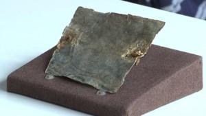 2.000 jaar oud vervloekingsplaatje gevonden in Tongeren: nooit eerder zoiets in België bovengehaald