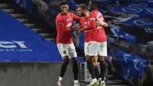 Ook Trossard en Brighton kunnen Manchester United geen strobreed in de weg leggen: Fernandes is weer de grote man