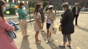 Buitengewoon onderwijs Klavertje Drie in Bilzen wuift leerlingen uit met QR-codewandeling