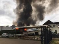 Asbest vrijgekomen bij brand hob-units in Lummen, terrein afgesloten