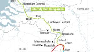 Nederlands-Limburg kijkt uit naar spoorlijn Den Haag-Aken