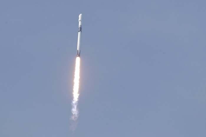 Falcon-9 draagraket van SpaceX lanceert gps-satelliet voor Amerikaanse leger