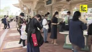 Disneyland Tokio heropent deuren na vier maanden