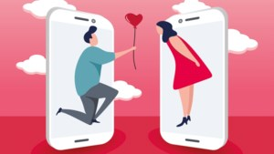 Nieuwe app geeft liefde op het eerste, wazige, gezicht een kans