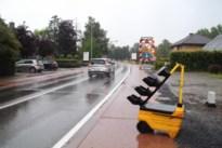 Verkeer aan werken Ringlaan draait in soep door toegeplooid verkeerslicht