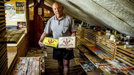 Roger Polders verzamelt luciferdoosjes uit de hele wereld