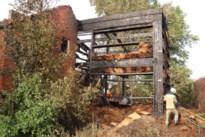 Brand vernielt nieuwbouw van strobalen