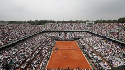 Roland Garros mikt op 20.000 fans per dag