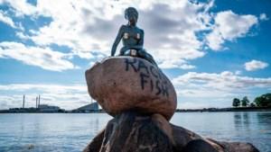 Zelfs de kleine zeemeermin van Kopenhagen is nu een racistisch monument