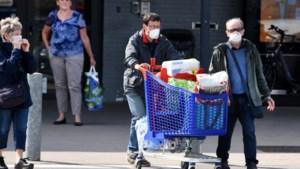 Aantal Limburgers met mondmasker in de supermarkt stijgt naar 38 procent