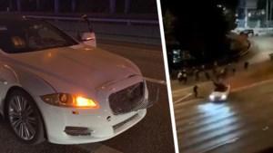 Schokkende beelden: auto rijdt demonstranten aan in Seattle