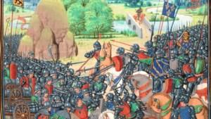 Oog in oog met het Frans-Bourgondische leger