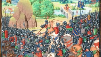 Bourgondische tijdreis: Oog in oog met het Frans-Bourgondische leger
