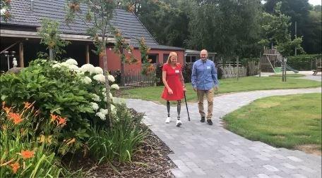 Hannelore verloor haar benen na ongeval, baat nu vakantiewoning uit in Beringen