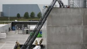 Brand in spouwmuur van bedrijf op industrieterrein Tongeren Oost