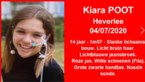 """Opsporingsbericht voor nichtje van Theo Francken: """"Medische zorgen nodig"""""""