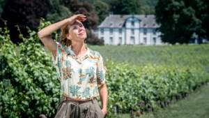 """Wijnen met 'Dr. Judith' in Genoels-Elderen: """"Acteren op 1,5 meter is een uitdaging"""""""