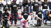 F1-piloten knielen tijdens start, maar Max Verstappen en vijf anderen doen niet mee