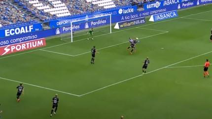 Ex-spits van Eupen en Waasland-Beveren steekt Antoine Griezmann met omhaal de loef af voor lekkerste goal in Spanje
