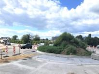 Fietsveilige rotonde in Veldwezelt wordt deze week opengesteld