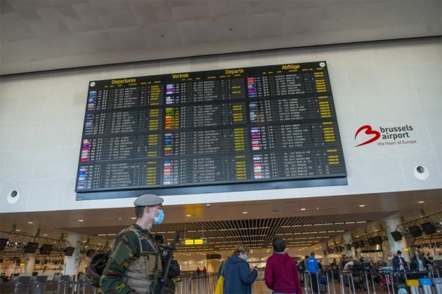 Eén passagier met coronasymptomen geweigerd op Brussels Airport