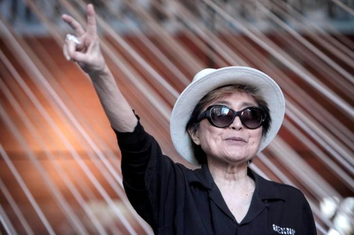 Het gaat niet goed met Yoko Ono