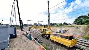 Spectaculaire werken aan dodelijke overwegen in Diepenbeek op volle toeren