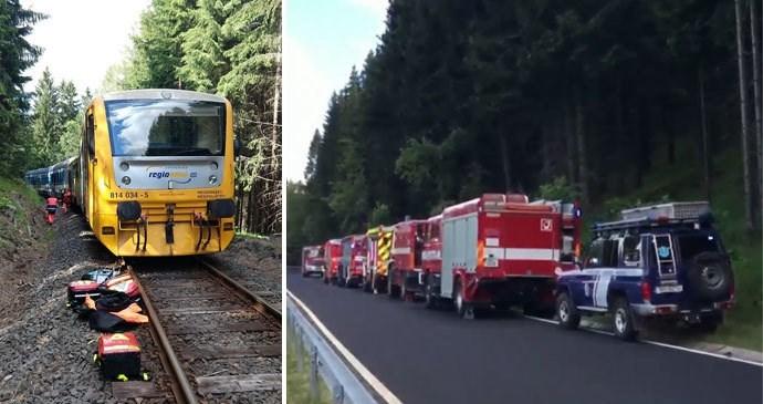 Doden en gewonden door treinbotsing in Tsjechië