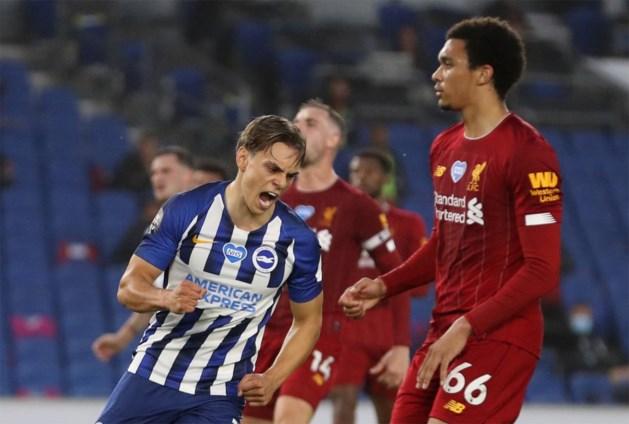 "Sterke Leandro Trossard lukt knappe goal, maar gaat wel onderuit tegen kampioen Liverpool: ""Ik voel me hier beter en beter"""