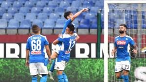 Dries Mertens scoort nummer 124 en helpt Napoli aan zege bij Genoa