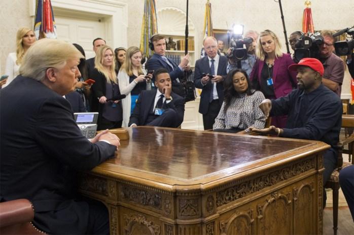 """Trump over Kanye West als presidentskandidaat: """"Goede oefening voor 2024"""""""